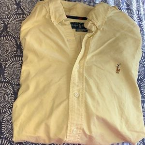 Polo by RL- yellow classic fit button down